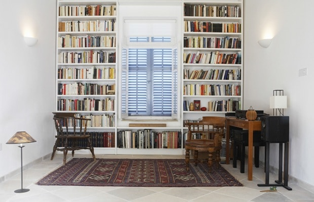 Wandkast boeken
