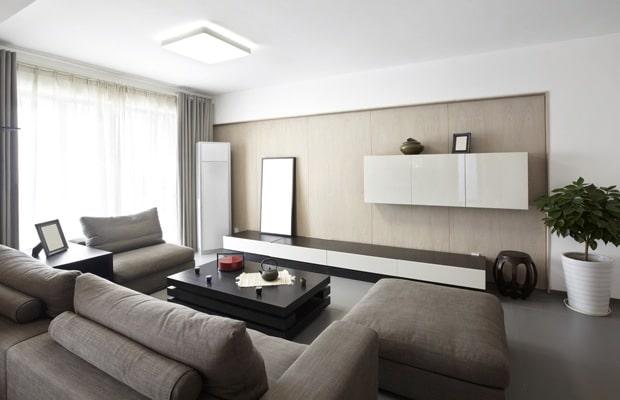 Wandkasten op maat voorbeelden en prijzen - Moderne eetkamer en woonkamer ...