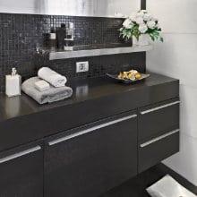 hangende kast badkamer