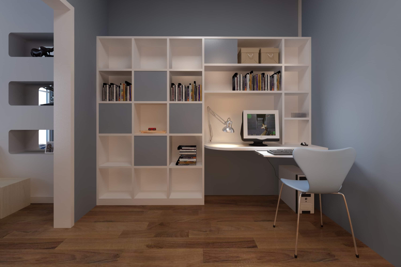 open boekenkast op maat